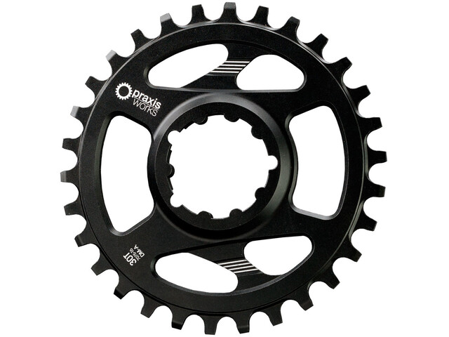 PRAXIS WORKS MTB Wave Tech Chainring 10/11/12-speed Direct Mount A/Non-Boost